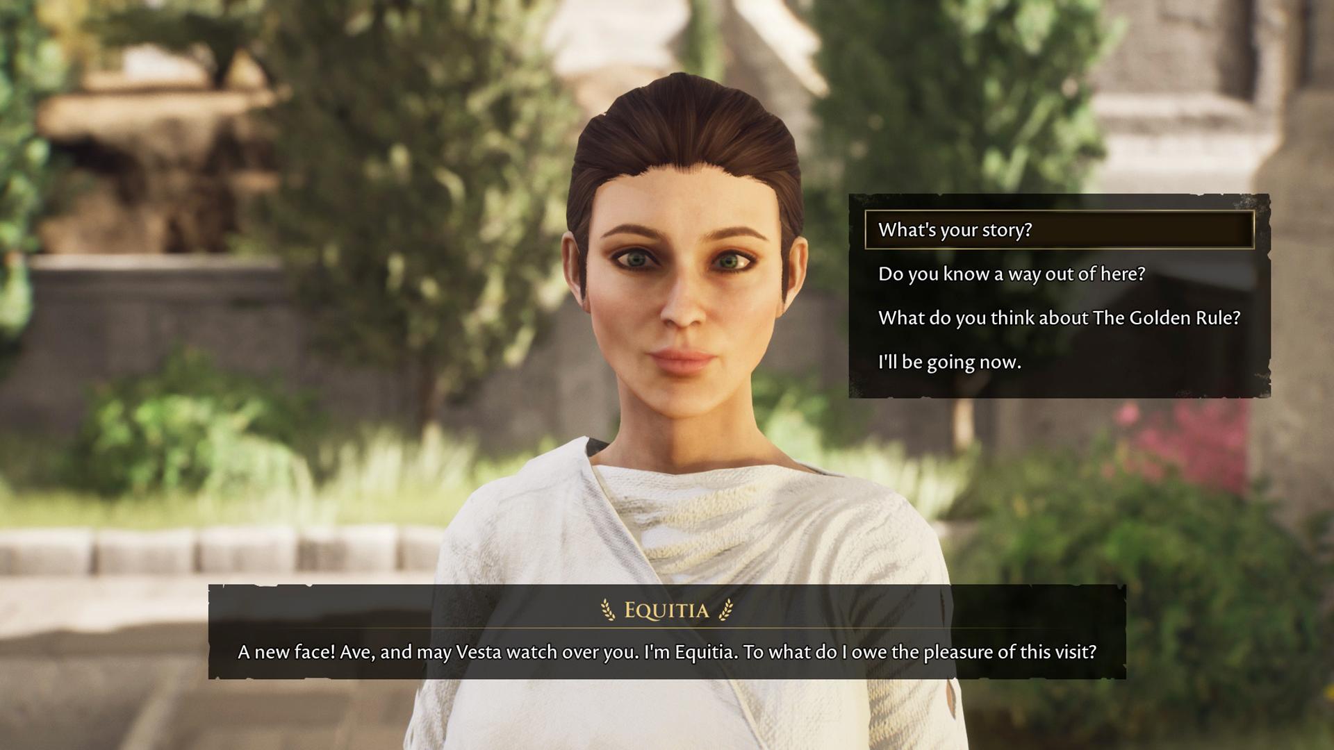 The Forgotten City - Priestess Equitia